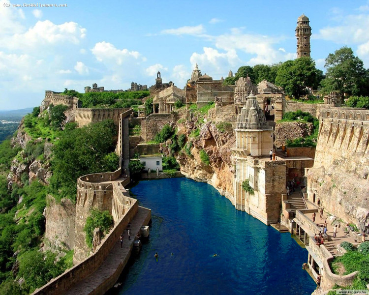 Chittorgarh, India.